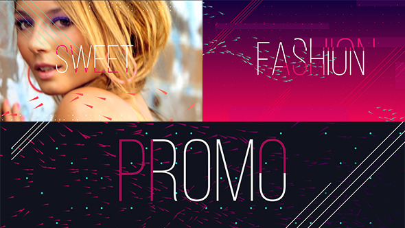 时尚动感品牌推广AE模板 VIDEOHIVE FASHION SWEET PROMO