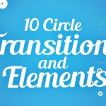 圆圈圆环MG动画过渡转场效果AE模板 Videohive Circle Transitions and Elements