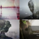 2D/3D多重曝光图片文字叠加贴图纹理AE模板 2D and 3D Double Exposure Pack