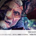 4K震撼紫色梦幻开场 Videohive Broken Guardian 4K
