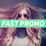 AE模板 动感活力绚丽色彩图文开场 Videohive Fast Colorful Corporate Promotion 免费下载