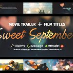AE模板 浪漫爱情记录爱情故事婚礼视频 免费下载 Videohive Love Story — Sweet September
