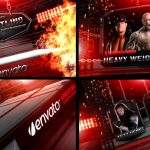 AE模板 竞技对抗擂台体育赛事栏目包装宣传 Videohive Wrestling Heavy Weight Champhionship 免费下载